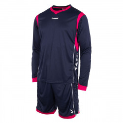 Hummel keeper set keepershirt keeperbroek munchen roze blauw.jpg1