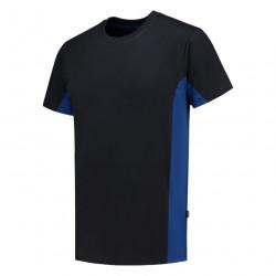 T-shirt Bi-Color zwart blauw.jpg1