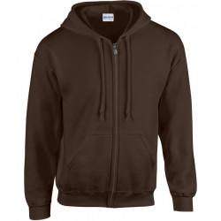 Gildan Sweater met capuchon en rits