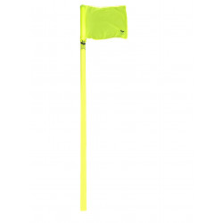 hoekvlagstokken goedkoop kwd met gele vlag met bodemkoker.jpg1