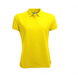 L&S Polo Basic for Her korte mouw
