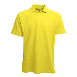 L&S Polo Basic for Him korte mouw