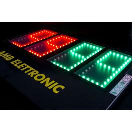 Elektronisch dubbelzijdig wisselbord Small