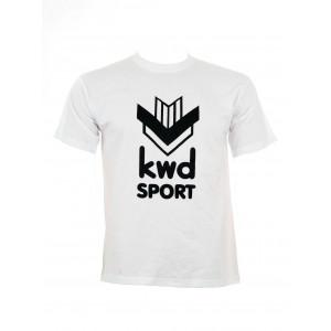KWD T-shirt met groot KWD logo