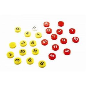 Losse magneten voor taktiekbord
