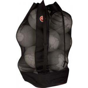 KWD Ballenzak Hadvik voor ca. 12 ballen, zwart/wit
