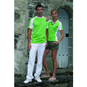 L&S T-shirt Premium for Her korte mouw