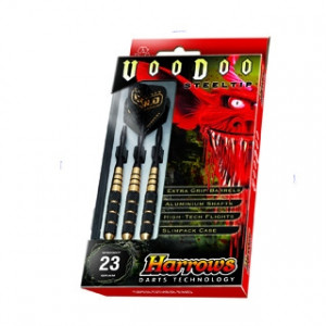 Harrows set pijlen Voodoo Brass