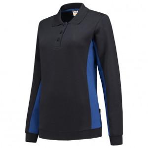 Dames Polosweater Bi-Color