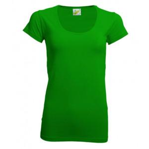 L&S Dames T-shirt Crewneck korte mouw