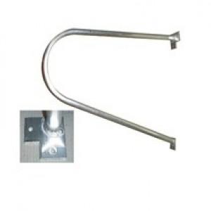 Ras P-beugel voor doel 601-623, aluminium