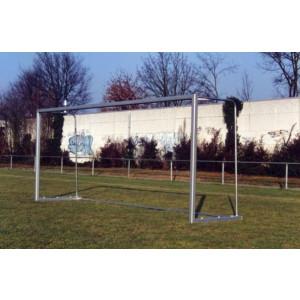 Ras Stel verplaatsbare jeugddoelen (2 stuks) 5,0x2,0x0,8x1,2 m, aluminium (628)