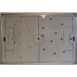 KWD Taktiekbord opvouwbaar 90x60 cm