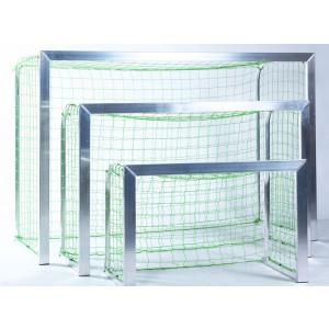 KWD Stel doelnetten 2,40x1,60x1,00x1,00 m, groen, mini